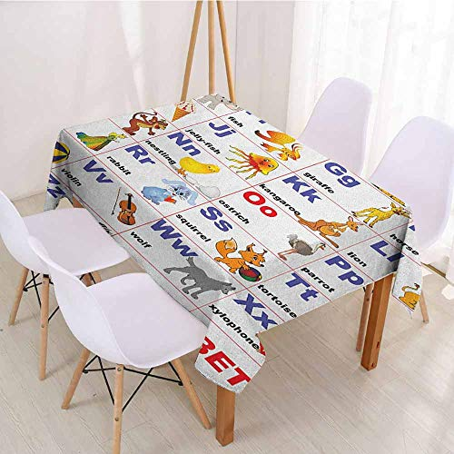 - ScottDecor Christmas Tablecloth Table Cover W 70