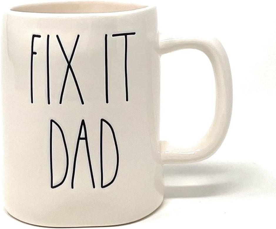 Rae Dunn San Antonio Mall FIX IT DAD Mug Coffee Fix Colorado Springs Mall Dad It Cup