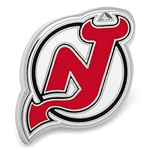 NHL New Jersey Devils Lapel Pin, Officially Licensed