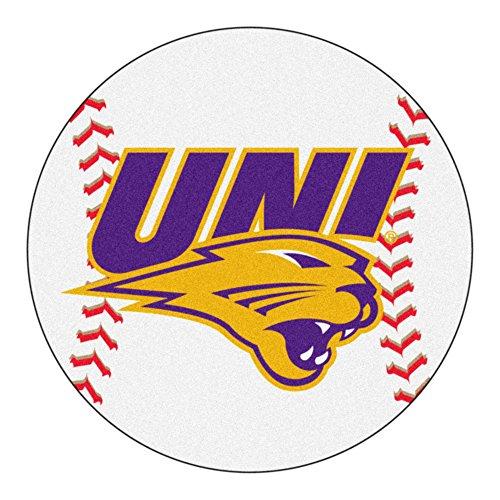 FANMATS NCAA University of Northern Iowa Panthers  Nylon Face Baseball Rug