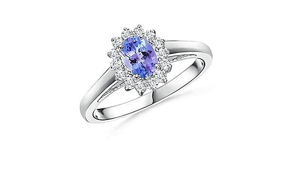 Angara Brown Diamond Interlocking Infinity Ring in Platinum