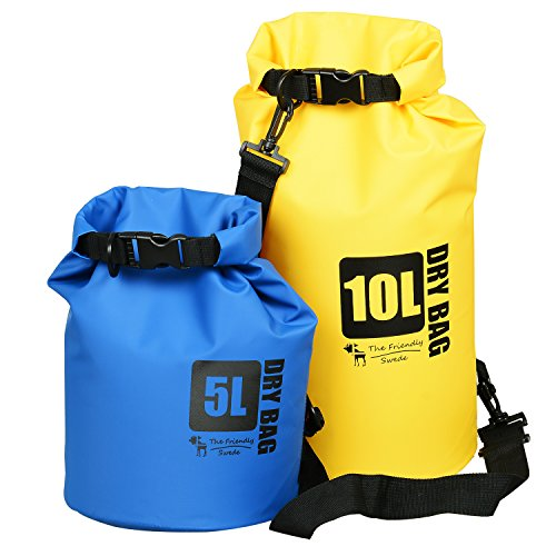 2-Pack-The-Friendly-Swede-Compact-and-Lightweight-Dry-Bag-Water-Resistant-500D-Tarpaulin