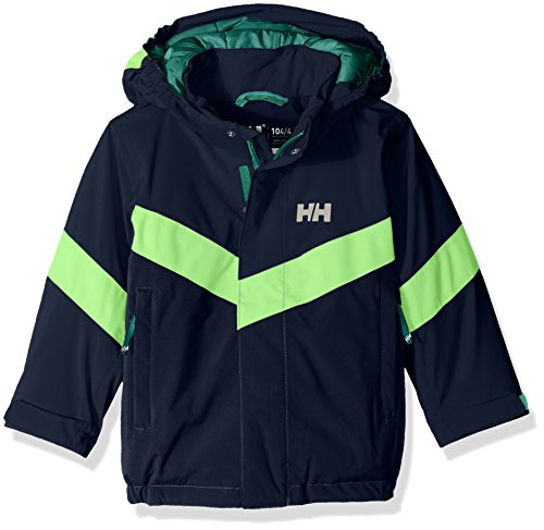 Helly Hansen Kids Legacy Insulated Jacket, Evening Blue, Size 9 by Helly Hansen