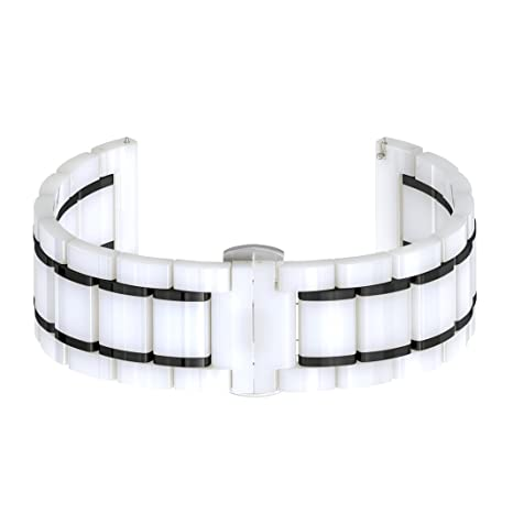 Amazon.com: Para Samsung Gear S3 bandas cerámica ...