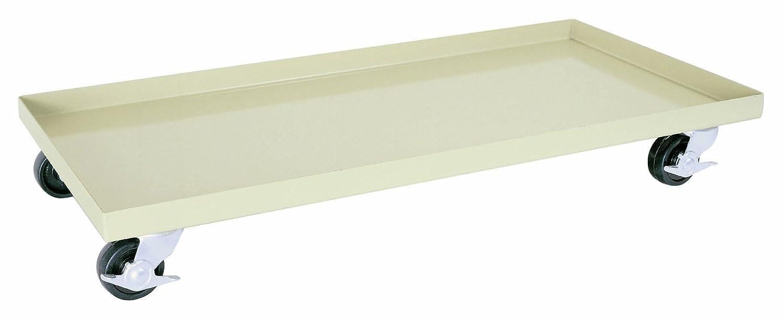 "Sandusky Lee DO10362400-07 Putty Steel Cabinet Dolly, 1000 lbs Capacity, 3/4"" Height x 36"" Width x 24"" Depth"