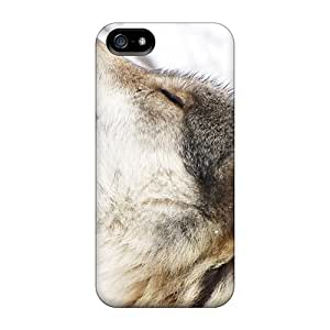 Premium Iphone 5/5s Case - Protective Skin - High Quality For Wolf Howl