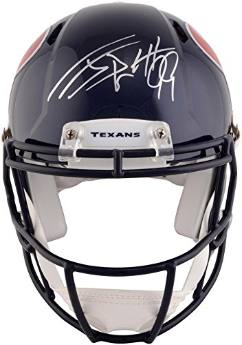 J.J. Watt Houston Texans Autographed Riddell Pro-Line Speed Authentic Helmet - Fanatics Authentic Certified ()