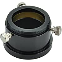 "Gsoky T Thread to 1.25"" Adapter ( M42x0.75 - 1.25inch) - with Dual Clampscrews and Compression Ring"
