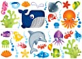 Fun4Walls SA30170 Under the Sea Decals