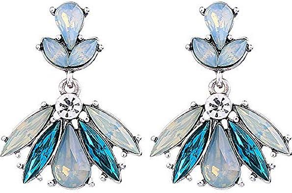 925 Aguja De Plata Aretes De Moda Femenina Pequeña Fresca Con Diamantes Piedras Preciosas Pendientes 2019 Verano Nuevo