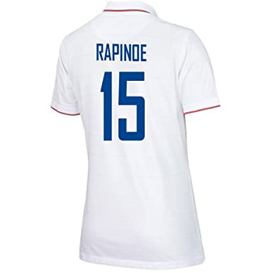 da603bf8740 Amazon.com  RAPINOE  15 USA Home Soccer Jersey Women s 2014 2015 ...