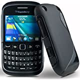 Wellmart Rubber Back Cover For BlackBerry Curve 8520