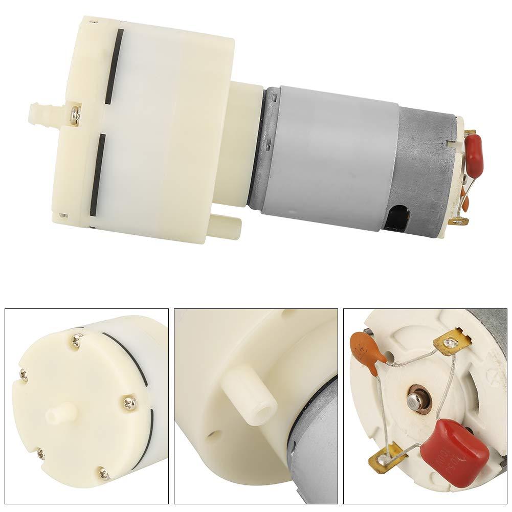 Min silencieuse Mini Pompe /à Vide de DC 12V Mini pompe /à air /à vide Pompe /à air /à haute pression /à membrane 12L