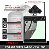 YESWELDER Large Viewing True Color Solar Power Auto