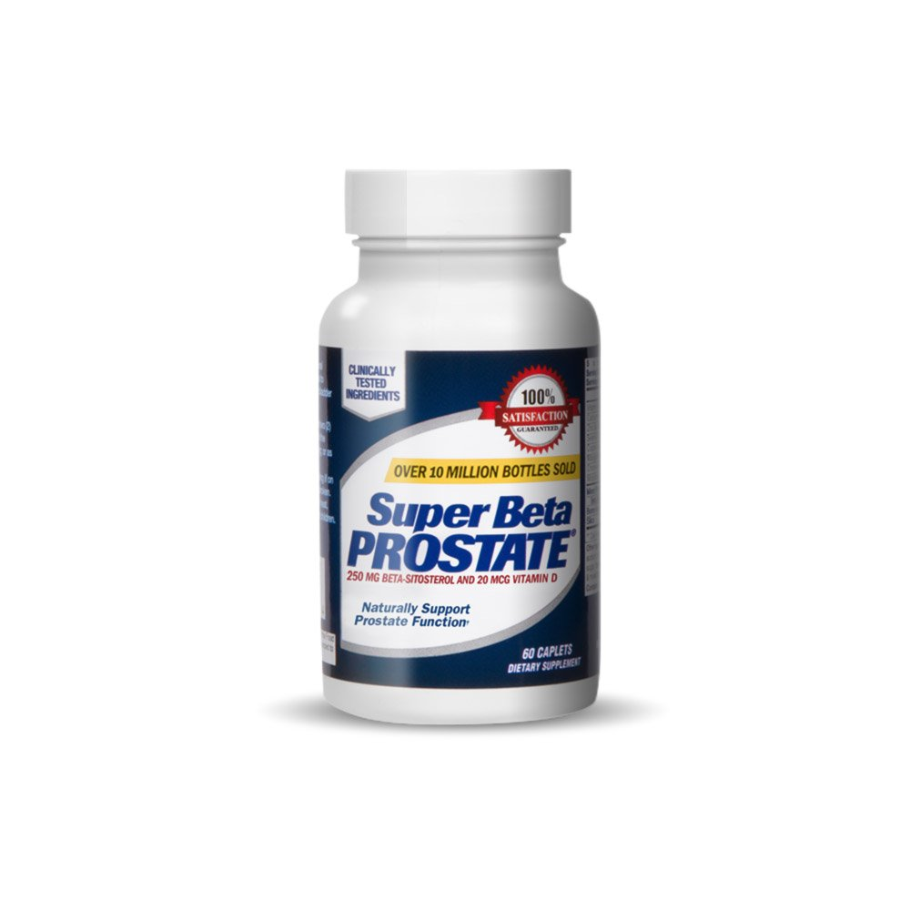 New Vitality Super Beta Prostate Supplement Supports Bladder & Urinary Health - 60 Caplets