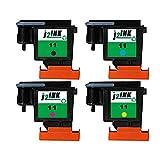 J2INK Refurbished Combo 4 11 C4810A C4811A C4812A C4813A Printhead Print Head
