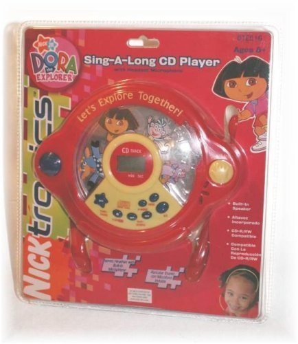 Dora The Explorer Sing-A-Long CD Player with Headset