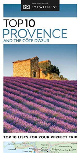 Top 10 Provence and the Côte d'Azur (Pocket Travel Guide) (Map Of The Cote D Azur France)