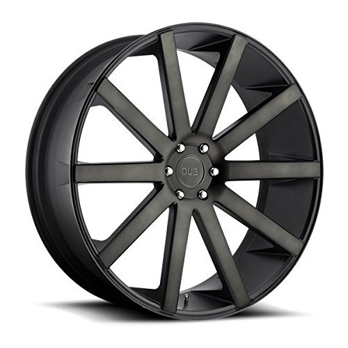 dub-shot-calla-24-black-flake-wheel-rim-6x55-with-a-30mm-offset-and-a-781-hub-bore-partnumber-s12124