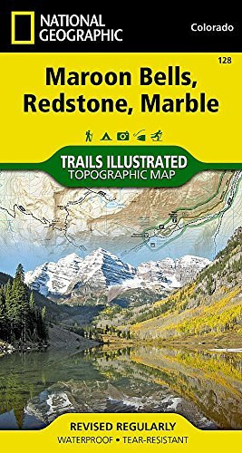 Bells Maroon (Maroon Bells/Redstone/Marble : Trails Illustrated (National Geographic Maps: Trails Illustrated) by National Geographic Maps (2012-08-02))