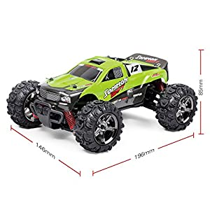TOZO C1142 RC CAR SOMMON SWIFT High Speed 30MPH 4x4 Fast Race Cars1:24 RC SCALE RTR Racing 4WD ELECTRIC POWER BUGGY W/2.4G Radio Remote control Off Road cross country vehicle Powersport green
