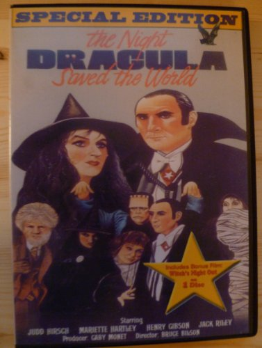 The Night Dracula Saved the World DVD (aka The Halloween that Almost Wasn't) Judd Hirsch -