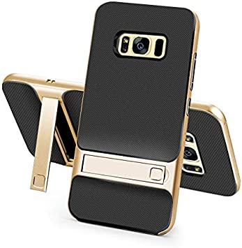 Color : Navy, Material : for S9 Plus RENKUNDE Thin Mobile Phone Case with Stand PC TPU Case for Samsung S8 S9 S8 S9 Plus Phone case