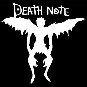 Pokewin 2pcs Death Note Angel Car Auto Vinyl Laptop Motorcycle Window Wall Truck Van Decal