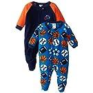 Gerber Baby-Boys Newborn 2 Pack Blanket Sleepers, Sport, 12 Months