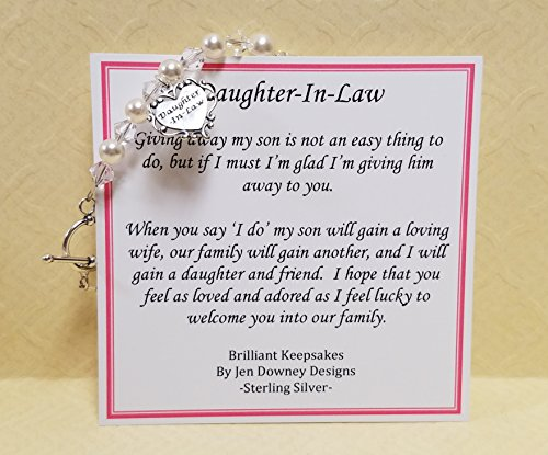 Daughter In Law Gift Keepsake Wedding Jewelry Welcome To The