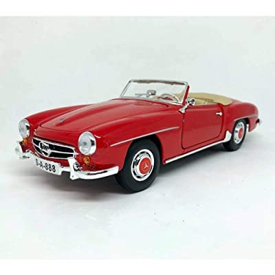 Maisto 118 1955 Mercedes-Benz 190SL Diecast Vehicle: Toys & Games