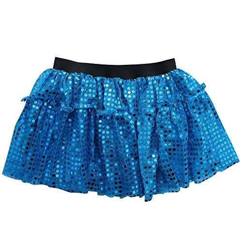Sparkle Running Skirt Race Tutu - Size 6-16, Costume, Princess, Ballet, Dress-Up, 5K 10K (S/M, Turquoise (5 Below Halloween Costumes)