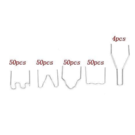 Seababyhouse Kit de Reparación de Parachoques de Plástico de la Grapadora Caliente Carrocería de la Defensa Arma de Soldadura Profesional de la Máquina de ...