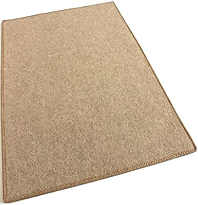 CAMEL BEIGE - ECONOMY POOL & PATIO - Indoor / Outdoor Carpet Rugs, Runners & Mats | Light Weight Spun Olefin Reliably Comfortable!