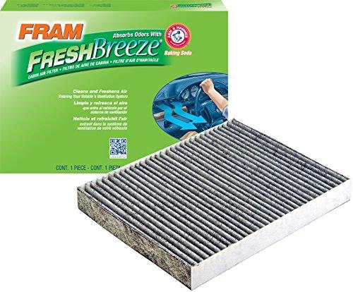 FRAM CF10732 Fresh Breeze Cabin Air Filter with Arm & Hammer