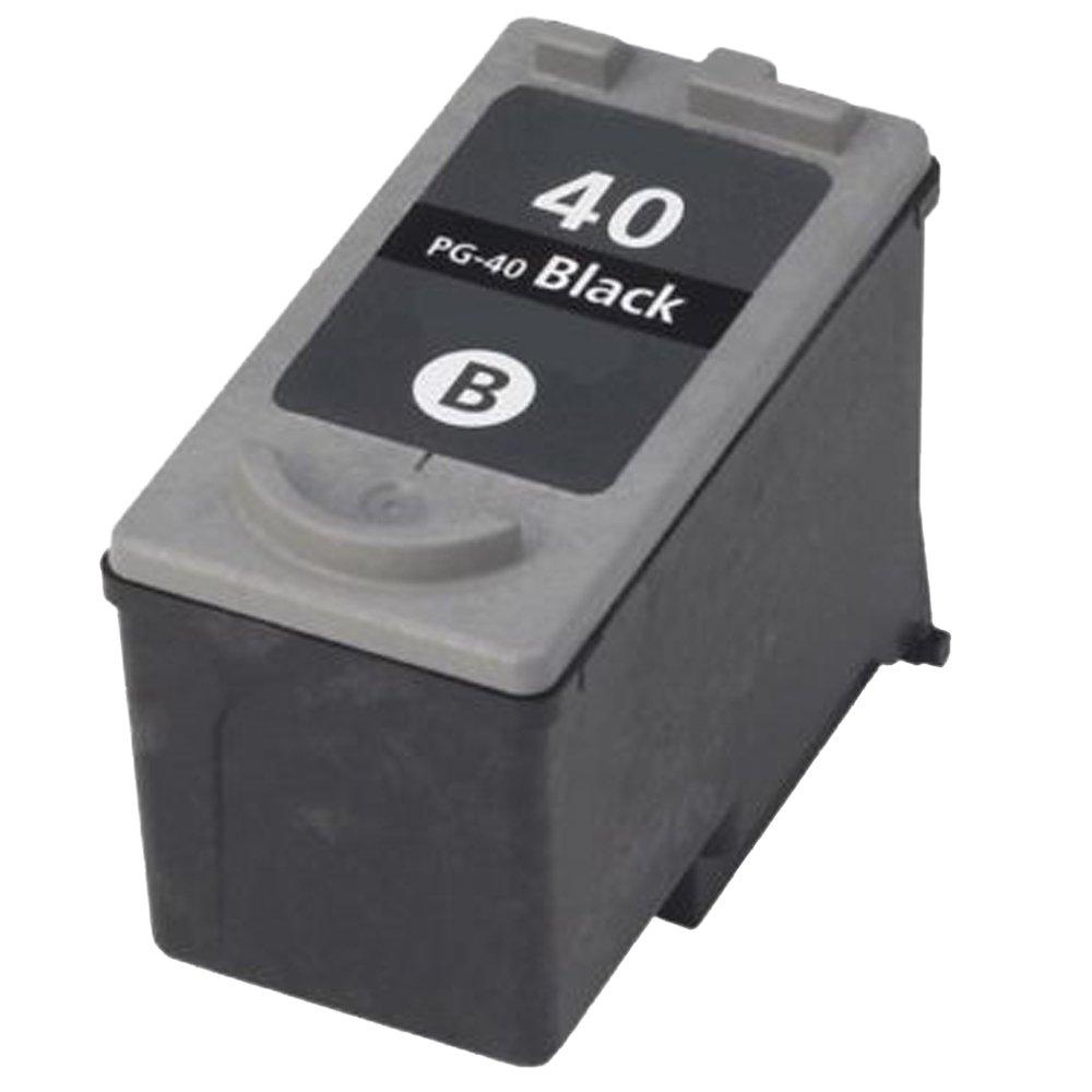 Ocproducts Remanufactured Canon PG - 40インクカートリッジ交換Canon ip1800 mx310 mx300 mp190 mp210 mp470 mp460プリンタ( 1ブラック) B072WD91HG