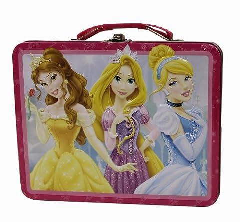 The Tin Box Company 877677-12 Disney Princess Carry All Tin- Assorted (The Tin Box Company Small)