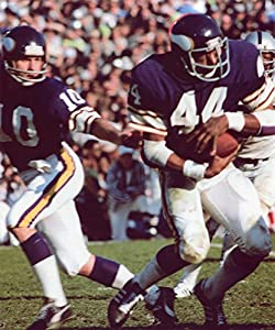 Fran Tarkenton-chuck Foreman Minnesota Vikings 8x10 Sports Action Photo (pl)