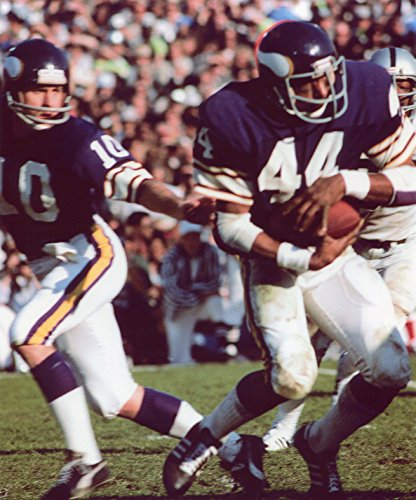 FRAN TARKENTON-CHUCK FOREMAN MINNESOTA VIKINGS 8X10 SPORTS ACTION PHOTO (Foreman Photograph)