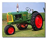 1953 Oliver Crop Farm Tractor Wall Picture 16x20 Art Print