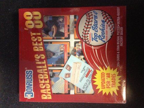 1988 Donruss Baseball Cards Baseball's Best Collector's Edition Factory (1988 Donruss Mlb Card)