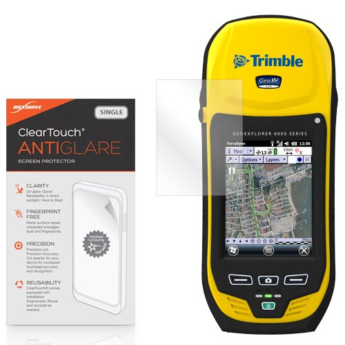 Trimble GeoExplorer 6000 Screen Protector, BoxWave [ClearTouch Anti-Glare] Anti-Fingerprint Matte Film Shield for Trimble GeoExplorer 6000 by BoxWave