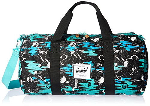 Herschel Supply Co. Unisex Lonsdale Peacoat/Limoges Crosshatch Duffel by Herschel Supply Co.