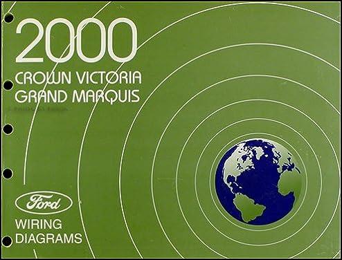 2000 crown victoria grand marquis original wiring diagram manual 2000 Grand Marquis Factory Radio Wiring Diagram