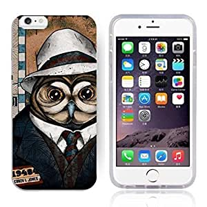 """Animal Art Illustration Pattern HD Durable Hard Plastic Case Cover for iphone 6(4.7"""") for LXR case"""