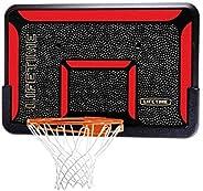 Lifetime 3823 Rectangular Impact Basketball 44-Inch Backboard and Rim Combo