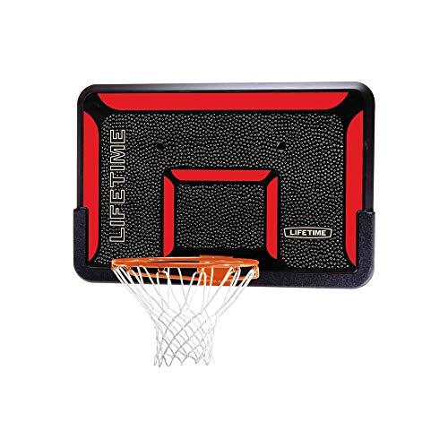 Lifetime 3823 44 in. Backboard Rim Combo (Basketball Backboard For Garage)