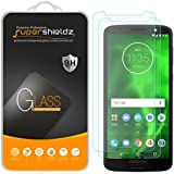 [2-Pack] Supershieldz for Motorola Moto G6 Tempered Glass Screen Protector, Anti-Scratch, Bubble Free, Lifetime Replacement Warranty