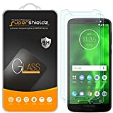 [2-Pack] Supershieldz for Motorola Moto G6 Tempered Glass Screen Protector, Anti-Scratch, Bubble Free, Lifetime Replacement
