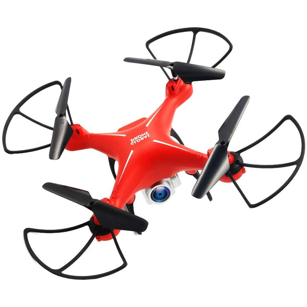 E-KIA Drohne Mit HD Camera,FPV-EchtzeitbildüBertragung, Schwerkraftmessung, 1800mAh-Lithiumbatterie,ROT